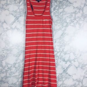Express Stripe Maxi Dress